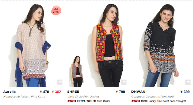 www.fashionara.com - Websites to Buy Indian, Ethnic Clothes and Accessories Online