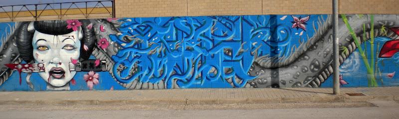 Arte y artificios mas de 100 metros lineales de muro - El tiempo en catarroja ...