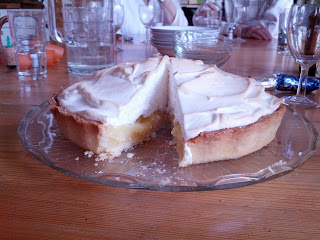 Lemon Meringue Pie, served