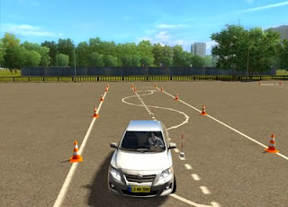 Gameplay City Car Driving Simulator Home Edition
