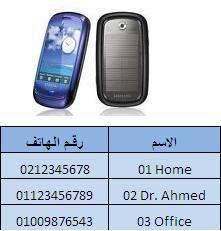 أرقام طوارئ بدليل أجهزة الهاتف المحمول