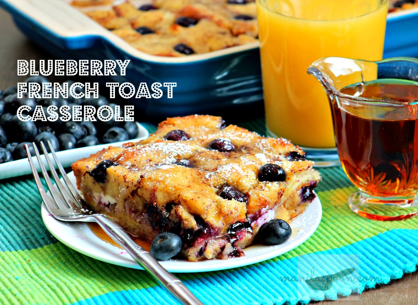 blueberry breakfast bake blueberry maple breakfast bake blueberry ...