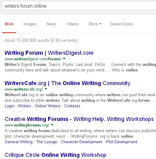 Essay writers forum