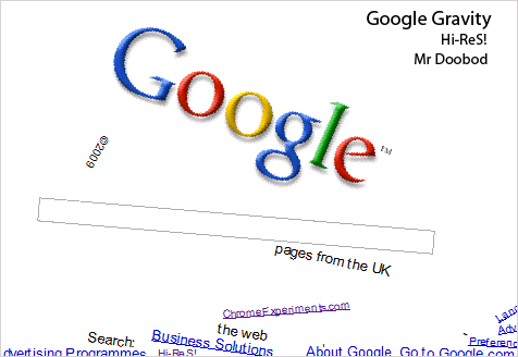 Google+gravity+mr+doob