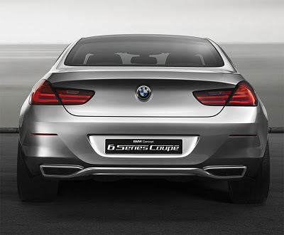 back side BMW 6 Series Coupe