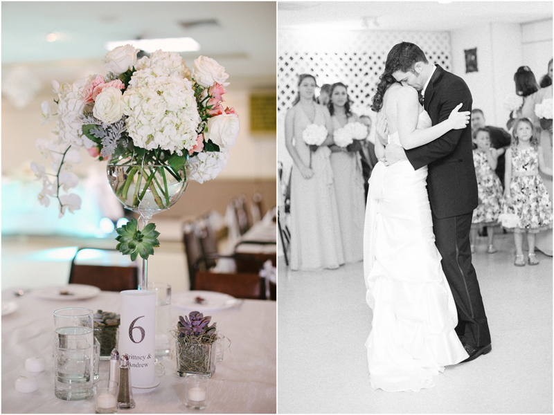 epic arrangements centerpiece first dance wedding photo