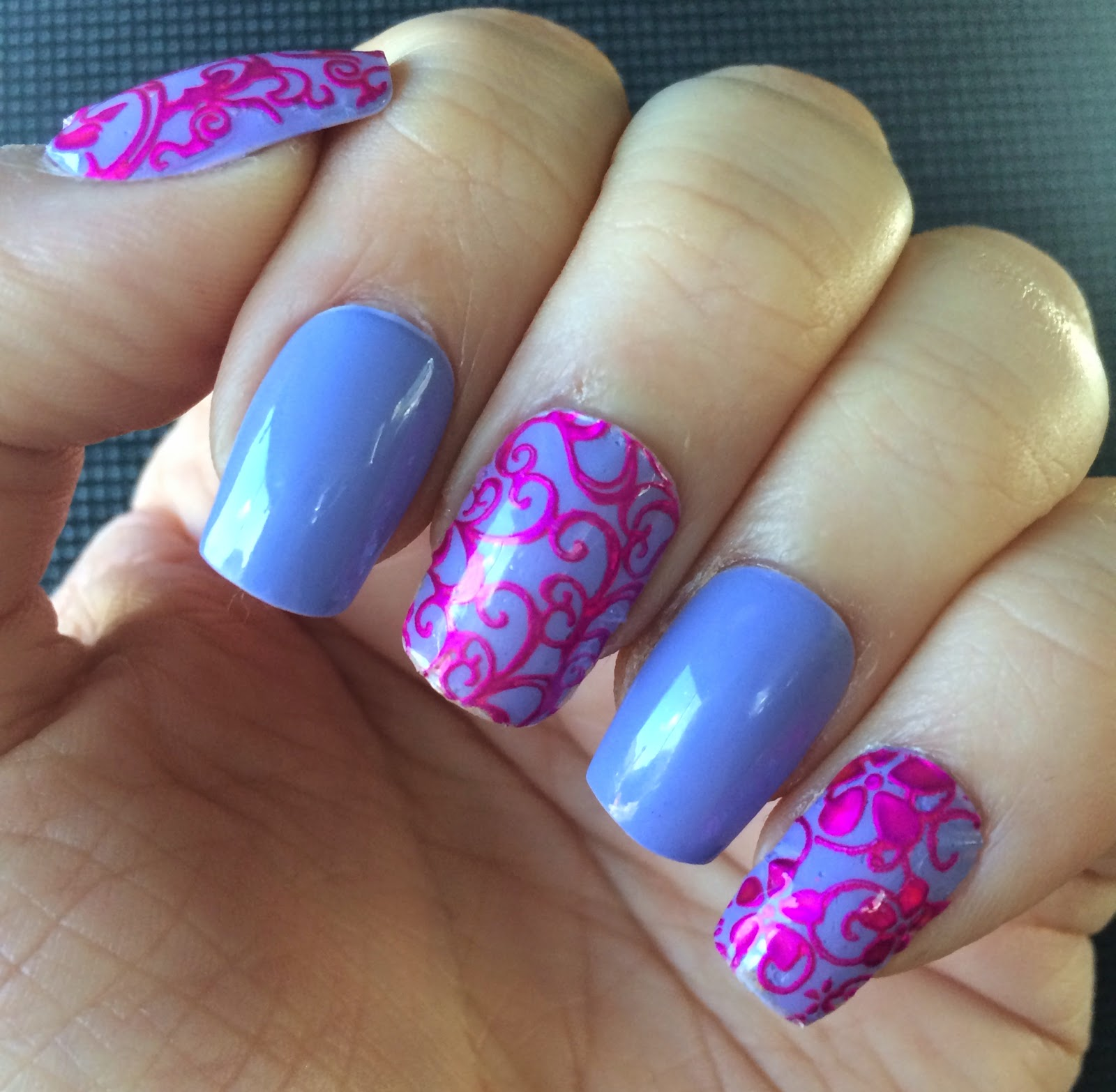 Born Pretty Store Floral Lace Nail Stickers Review