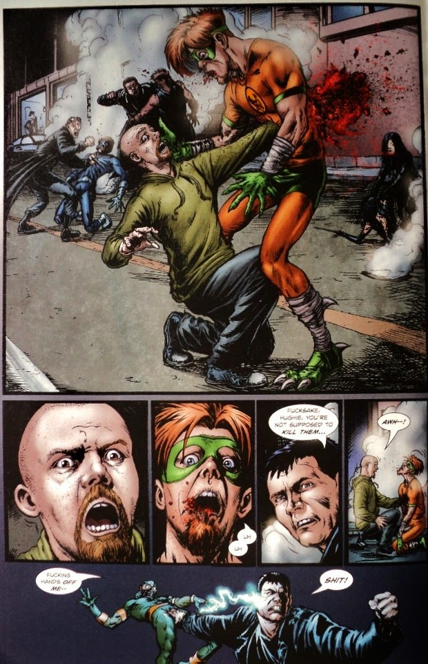 The Boys # 5 6 - Garth Ennis Darick Robertson