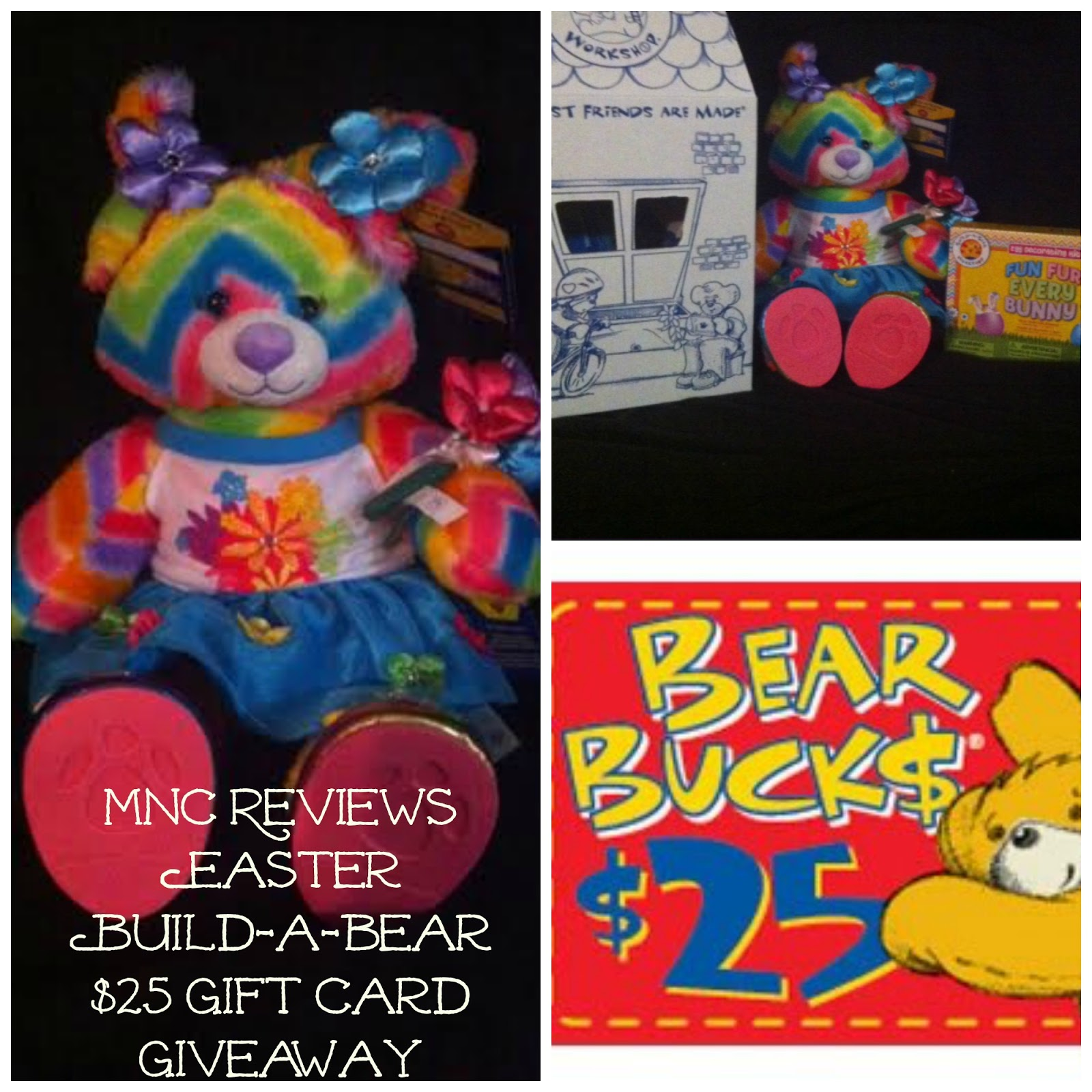 Easter Build A Bear $25 GC Giveaway