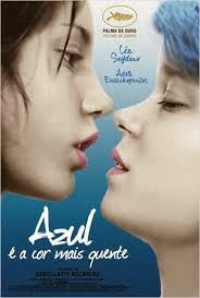 """Poster do filme """"Azul È A Cor Mais Quente"""""""
