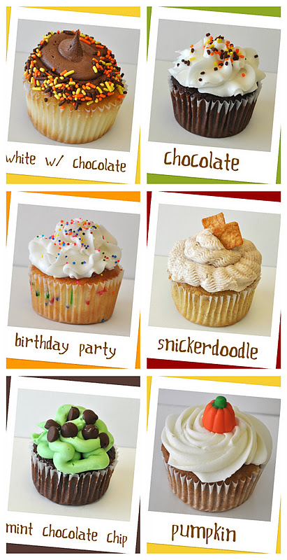 For Goodness Cakes November Cupcake Flavors