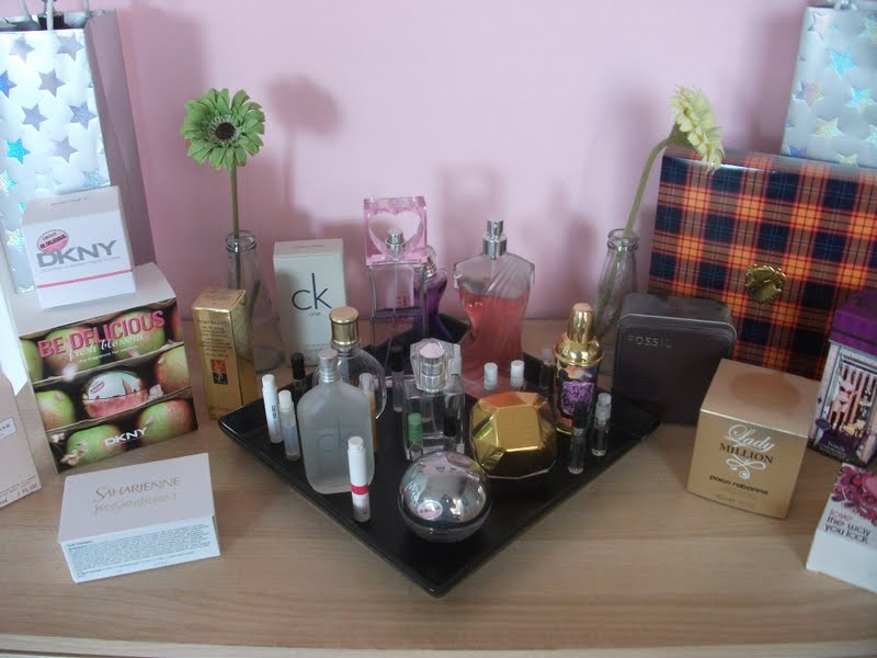 le blush couture neue aufbewahrung f r mein parf m. Black Bedroom Furniture Sets. Home Design Ideas