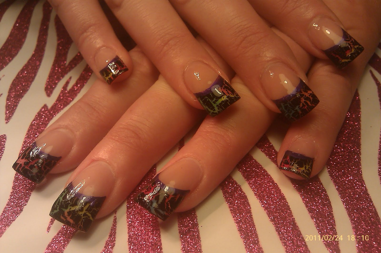 realtree camo acrylic nail tips - nails gallery