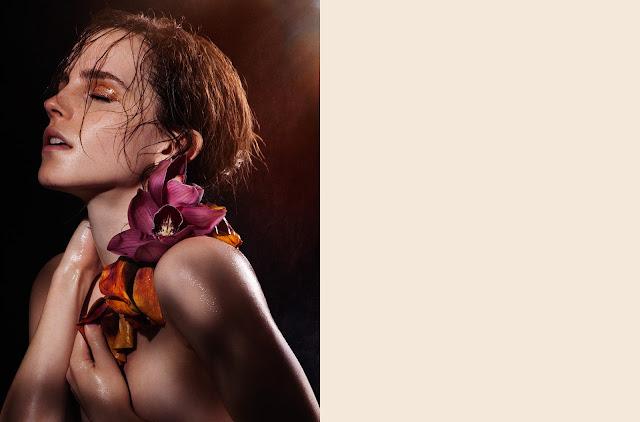 Emma Watson Natural Beauty Photo shoot