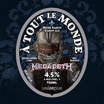 Unibroue and Megadeth join forces!