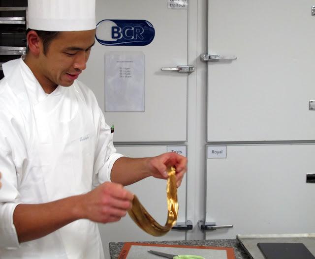 Journée Particulière à la Grande Epicerie - le labo de pâtisserie