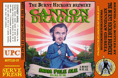 The Burnt Hickory Brewing Company - Cannon Dragger India Pale Ale