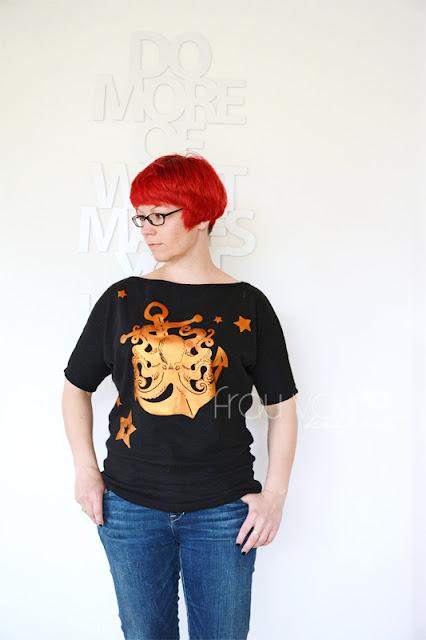 Krakenshirt @frauvau.blogspot.de