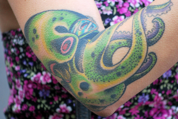 Imagem2 #tattoofriday   Tattoos & Tentacles