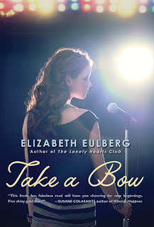 Take a Bow Elizabeth Eulberg book cover