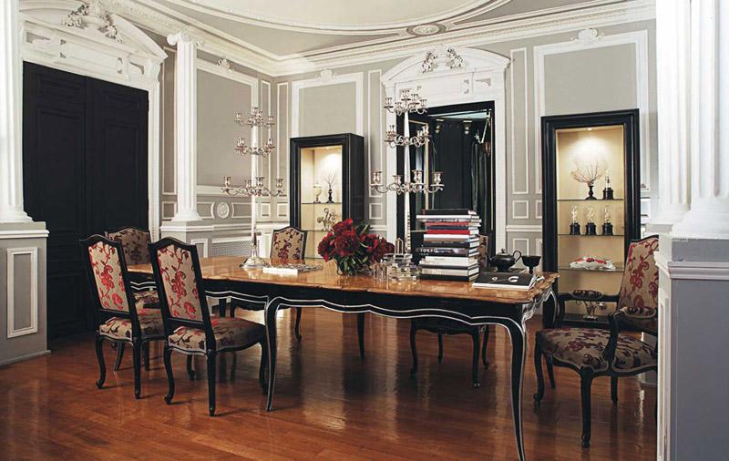 Mesas de comedor cl sico ideas para decorar dise ar y - Tavoli da pranzo classici ...