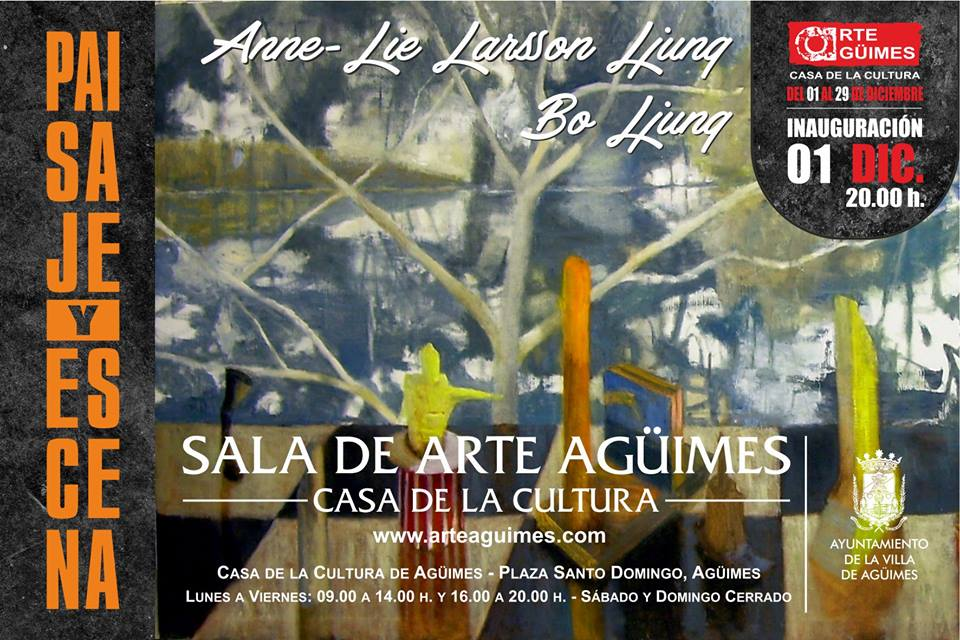 """Paisaje y Escena"" en la Sala de Arte Agüimes"