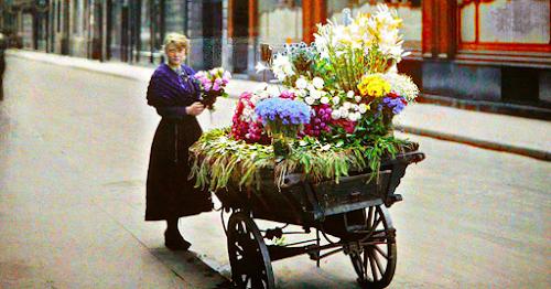Confira estas belíssimas e raras fotos coloridas de Paris à 100 anos atrás!