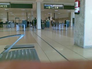 Girona airport security