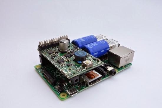 UPS para Raspberry Pi com supercapacitores