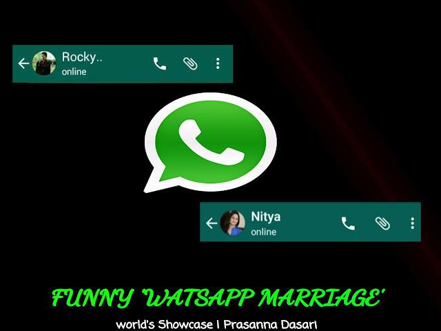 Funny 'Watsapp Marriage'