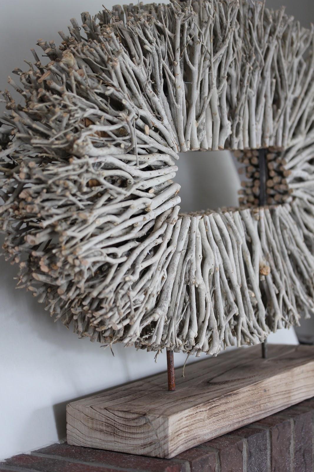 Objekt aus sten deko hoch drei - Mit asten dekorieren ...