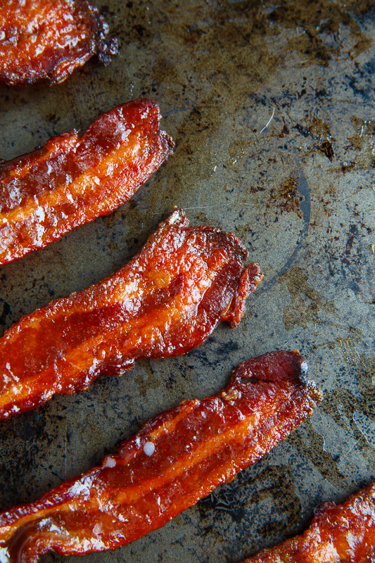 Maple Candied Bacon on Closet Cooking