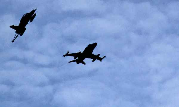 TNI AU Gelar Latihan Operasi Serangan Udara