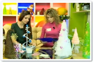 видео онлайн Новогодние елочки своими руками