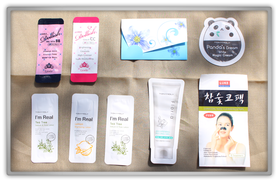 Jolse Order 7 Skinfood Innisfree Honey Haul Review 2015 skincare beauty blogger samples