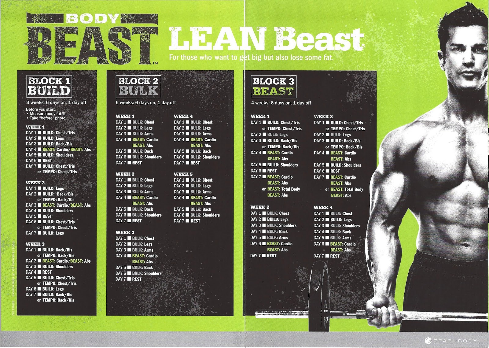 Tapout Xt Meal Plan