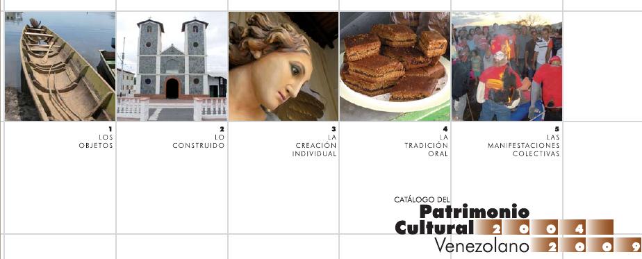 Catálogos del Patrimonio Cultural Venezolano
