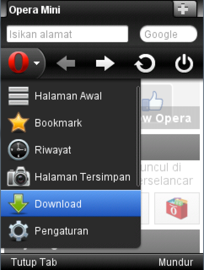 Download opera mini 6 crack