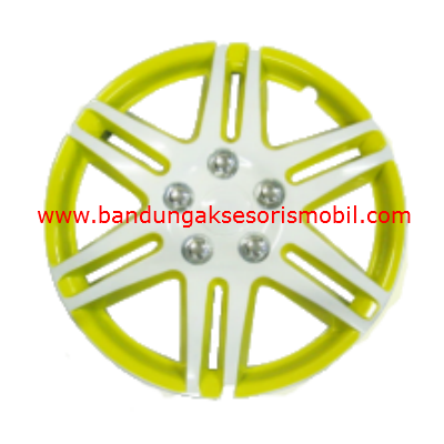 Dop Roda White+Yellow WJ-5005 (13)