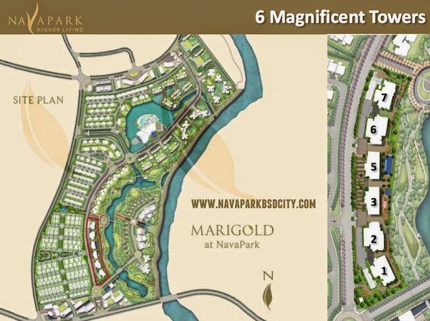 6 Tower Condominium Marigold NavaPark BSD City