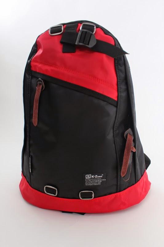 2015 全新K-Zone (kzone bag) 防水絹撞色背囊背包 4