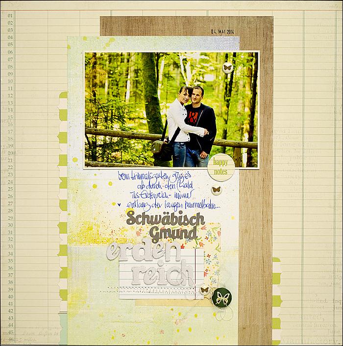 Scrapbooking - Landesgartenschau, Creative Scrappers