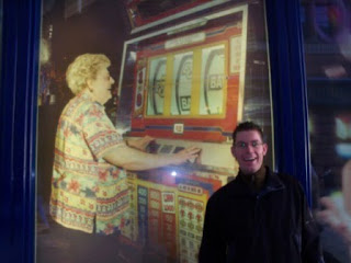 Richard Gottfried and the HUGE 'Vegas' scene on an Amusement Arcade in Liverpool.