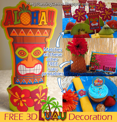 Easy to Make Luau Decorations http://www.craftjuice.com/user.php?login=WordPlay&view=shaken
