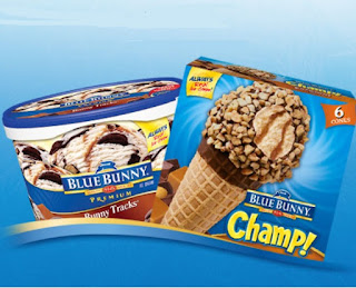 Image: Blue Bunny ice cream products