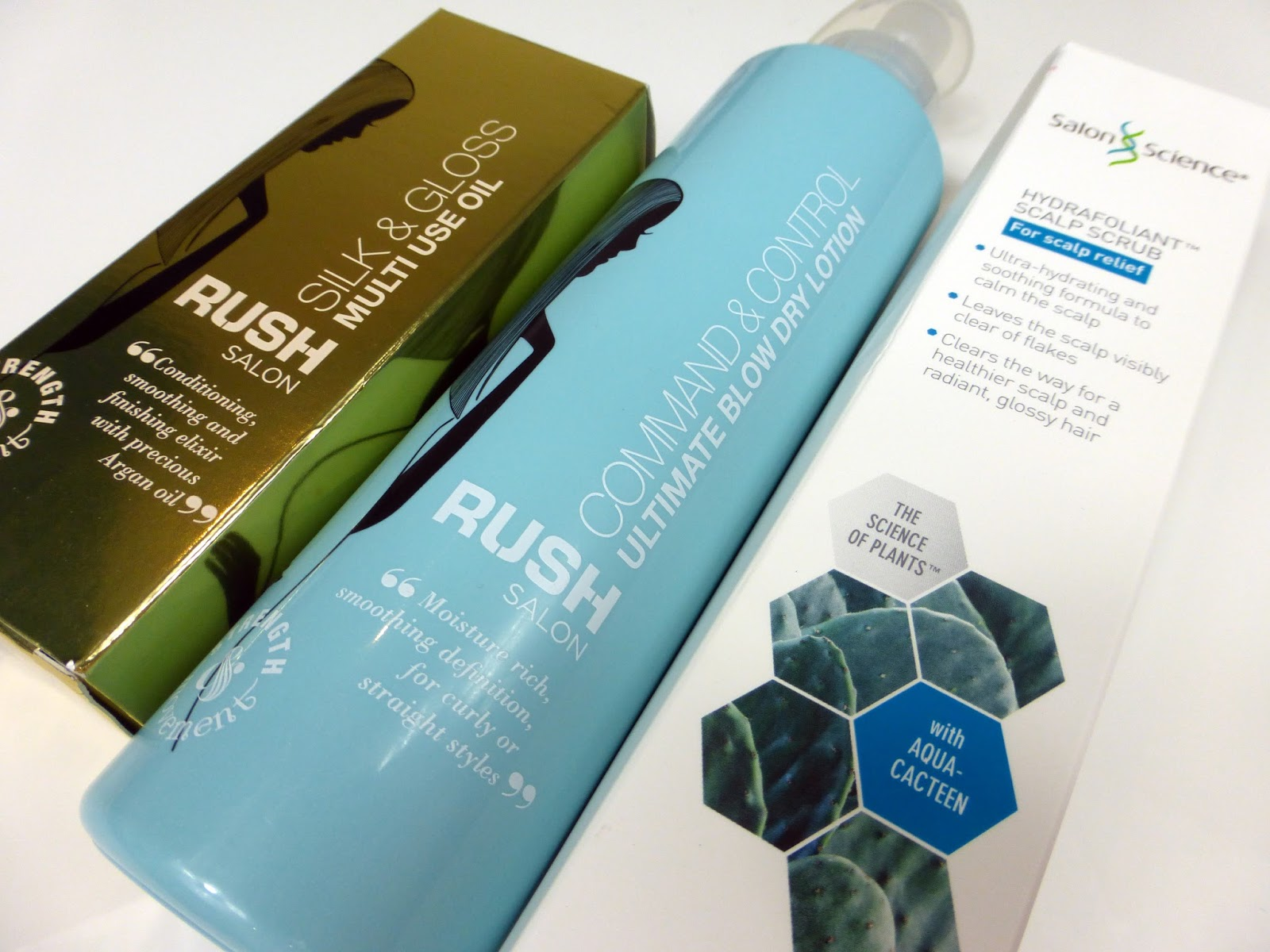 RUSH Multi-Use Oil, RUSH haircare, Salon science