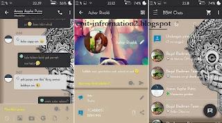 BBM Mod Aksara Apk 290.0.0.29 Terbaru + Change Cover