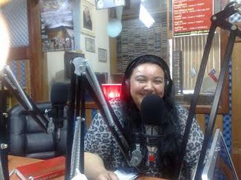 Cantora Berenice Braun, participação especial na Rádio Marumbi/SC!