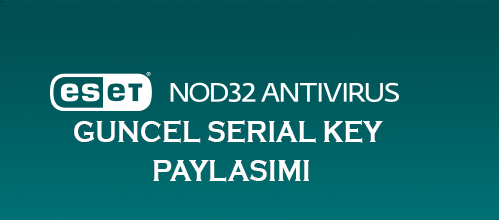 Smart Security + Eset Antivirüs 9 Serial Key