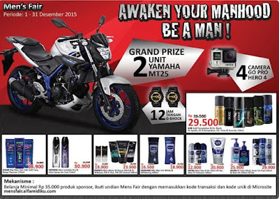 Info Promo - Promo Undian Men's Fair